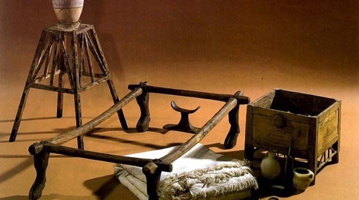 История мебели. Египетская мебель