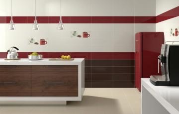 Кафельная плитка – залог чистоты на кухне