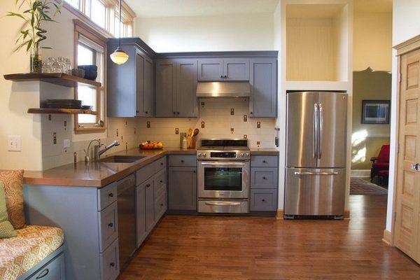 Как правильно расположить мебель и необходимое оборудование на кухне