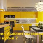 Какие бывают вытяжки для кухни