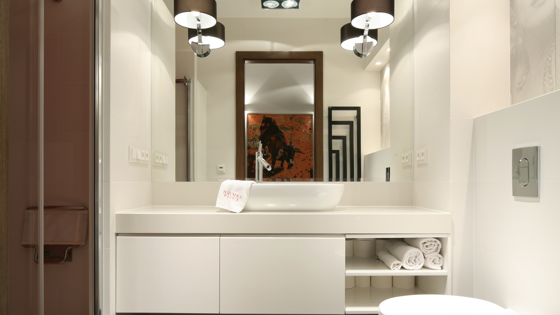 Какую мебель выбрать для маленькой и большой ванной комнаты