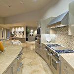 Кухня из мрамора