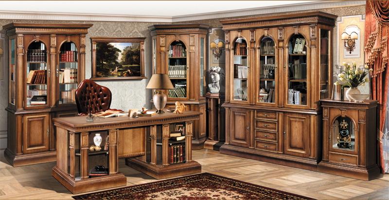 Мебель для кабинета из массива