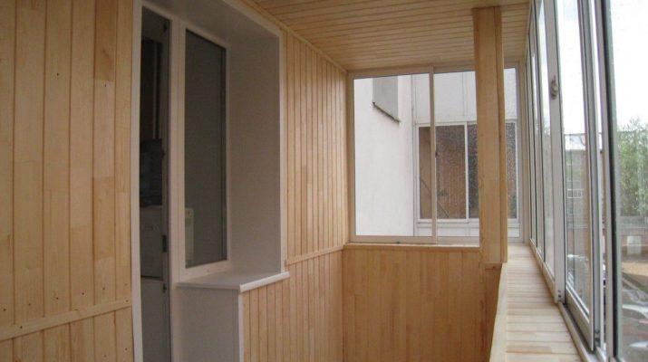 Напольное покрытие на балконе