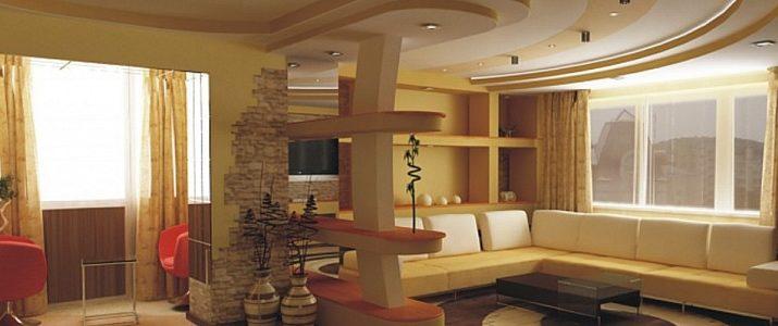 Натяжные потолки, виды и преимущества