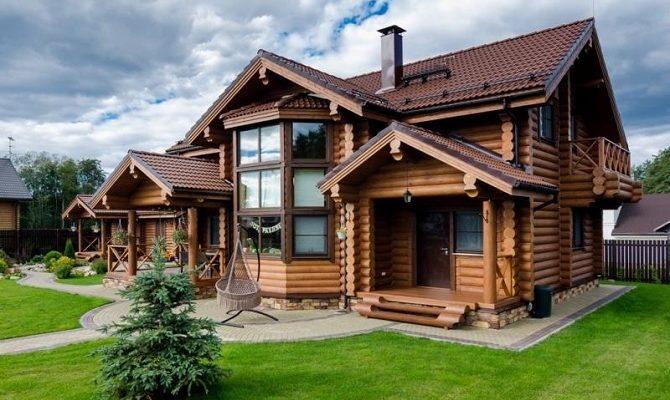 Основные плюсы и минусы домов из бревна