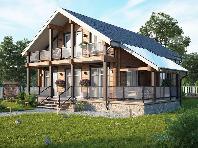 Основные принципы планировки оптимального загородного дома