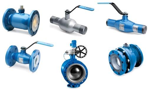 Основные разновидности трубопроводной арматуры