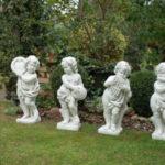 Преимущества и недостатки применения садово-парковых скульптур из бетона
