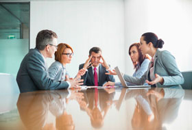 Взаимодействие подразделений в коммерческой компании