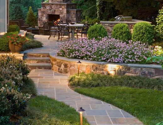 Загородный ландшафтный дизайн и проектирование