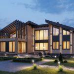 Пять дельных советов по уходу за домами из клееного бруса