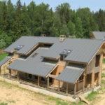 Замена крыши частного дома
