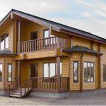 Особенности строительства домов из сухого профилированного бруса