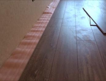 Ремонт квартиры — укладка ламината своими руками