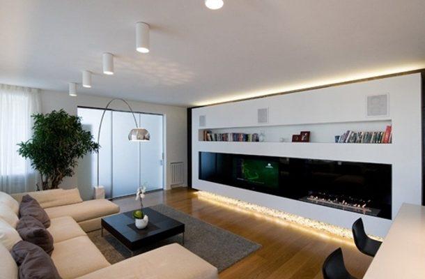 Накладные светильники в домашнем интерьере