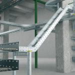 Использование лотков для прокладки кабельно-проводниковой продукции