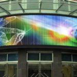 Виды светодиодных экранов