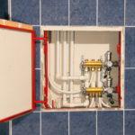 Сантехнические люки для ванной комнаты
