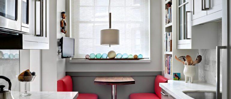идея-интерьера-маленькой-кухни