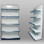 Производство металлических стеллажей для магазина