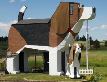 В моде необычные дома