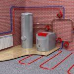 Элементы системы отопления загородного дома