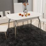 Раздвижные столы для кухни: преимущества
