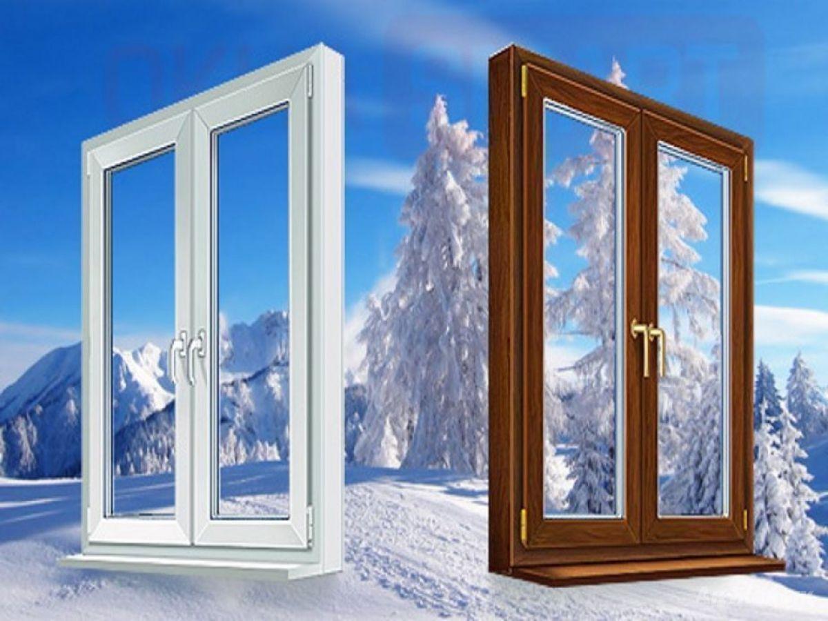 окна деревянные и пластиковые