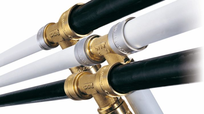 трубы водопроводные