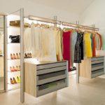 Обустройство гардероба – планировка и расположение