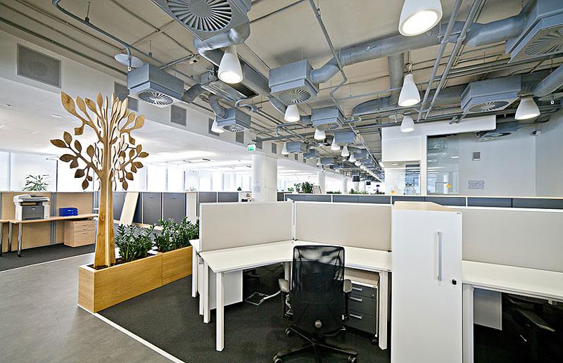 система вентиляции в офисе