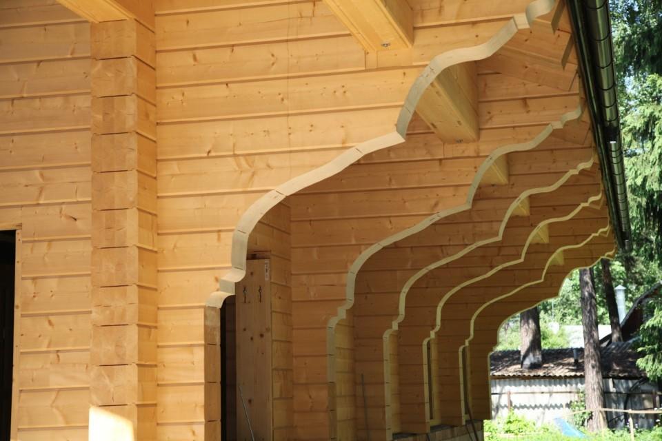 клееный брус для строительсва домов