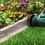 Особенности садового бордюра. Правила установки