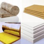 Изоляционные материалы для дома