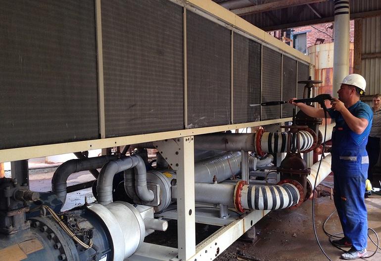 ремонт и обслуживание челлеров