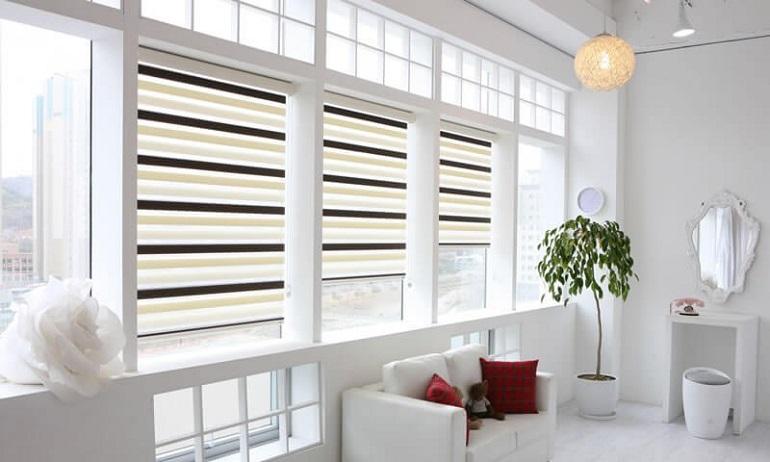 рулонные шторы - как выбрать размер
