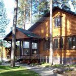 Деревянные дома из профилированного и клееного бруса