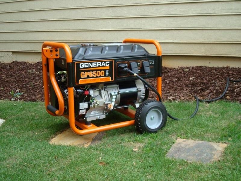 портативный дизельный генератор