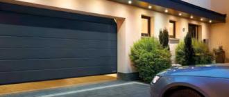 гаражные автоматические секционные ворота