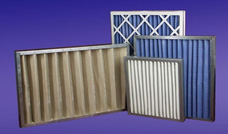 кассетные воздушные фильтры компании ТЕКС