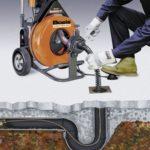 Чистка труб канализации – технология