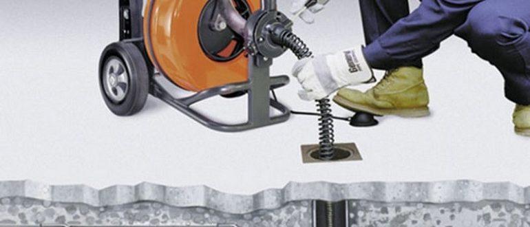 гидродинамическая машина для очистки канализации