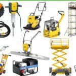 Выгодная аренда профессионального строительного оборудования и инструмента