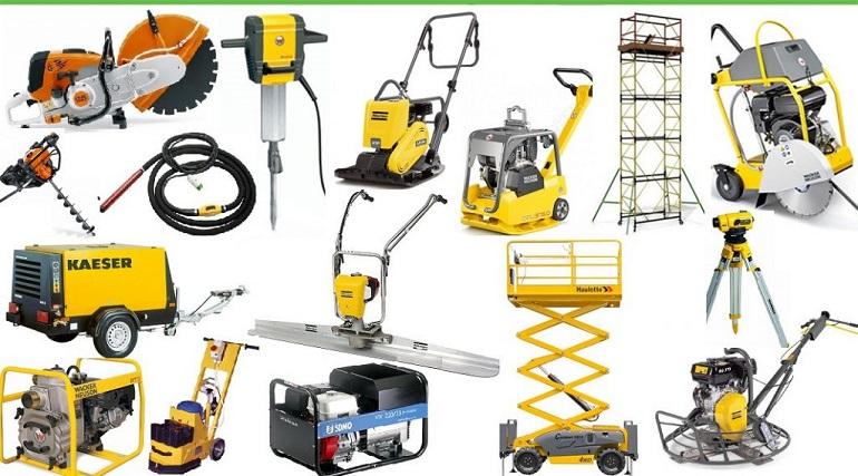 строительное оборудование и инструмент в аренду