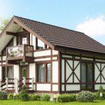 Дома фахверк – особенности строительства