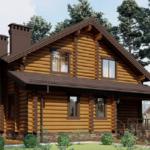 Готовые бревенчатые дома в поселке Романовские дачи