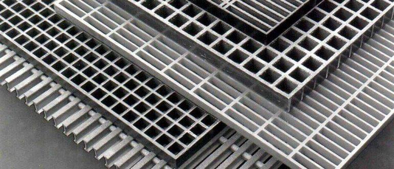 решетчатый стальной настил