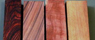 виды древесины и свойства