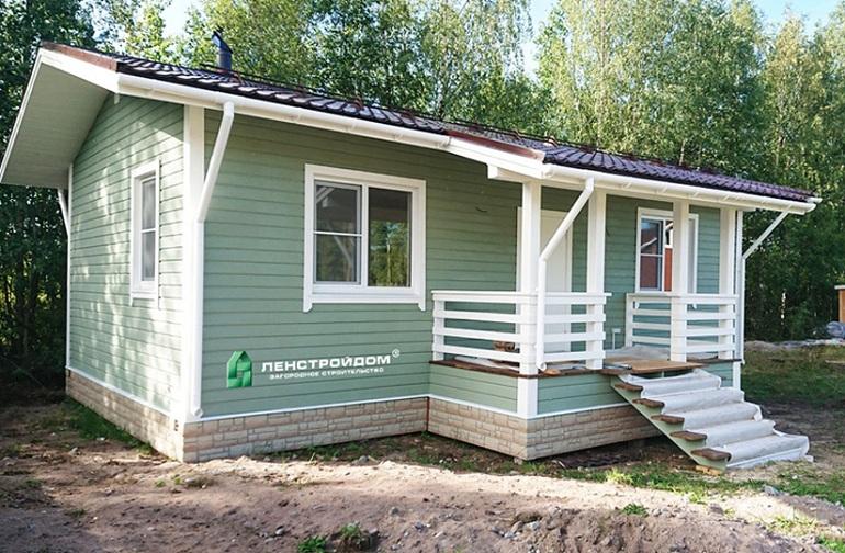 дачные дома под ключ в Санкт-Петербурге